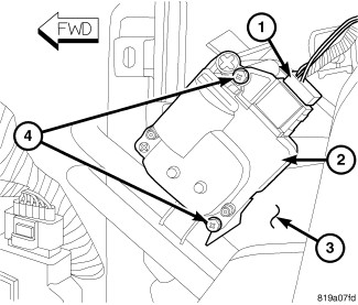 2010 dodge journey no heat passenger side dodgeforum 2009 Dodge Charger Fuse Diagram 1 disconnect and isolate the negative battery cable 2 on rhd models if equipped remove the silencer from underneath the passenger side of the instrument