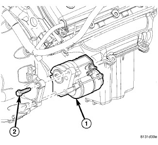 install chrysler transmission diagram