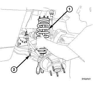 2kr1l Easy Replace Front Struts 2006 Dodge on volvo s60 engine diagram