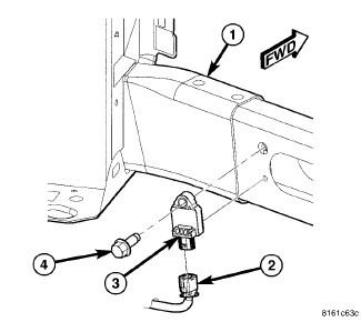 Air Bag Sensor Location 2007 Town And Country