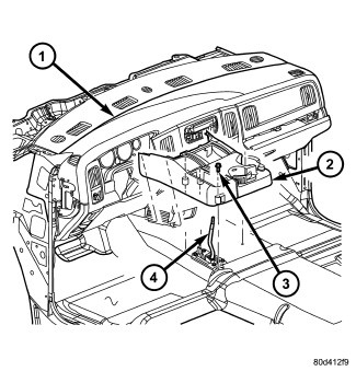 2012 Ford F150 Airbag Control Module Location
