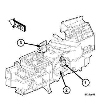 Ac Heater Blend Door Actuator Location on 2000 dodge durango fuse box diagram 2