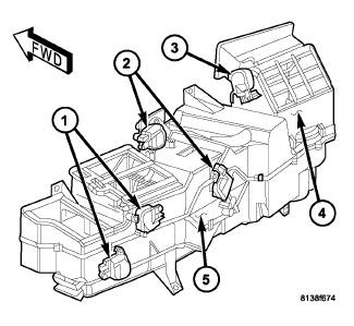 389w2 Dodge 2006 Ram 1500 Heater Will Not Change Dash