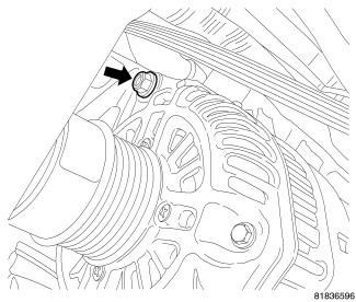 how to change a 2009 dodge caliber alternator