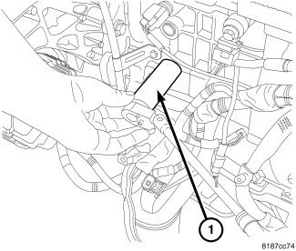 340818 Oil Pressure Sensor Location