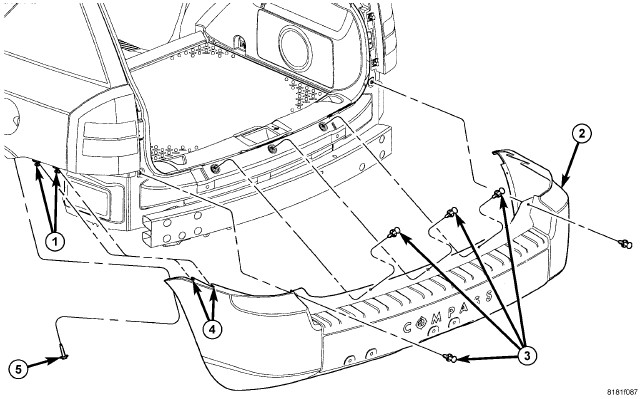 service manual  2007 jeep compass cover removal