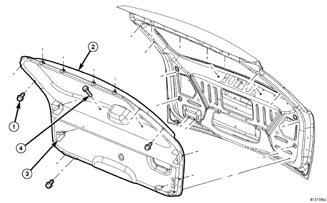 how do i change the rear wiper assembly on a 2006 jeep