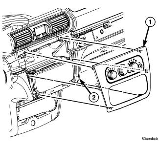 Dodge Stratus Instrument Panel
