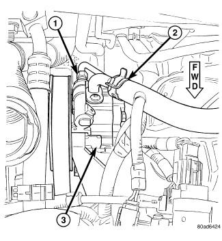 07 grand caravan  power steering pump  3 8 l  myself