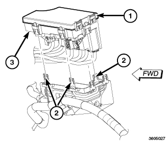 2000 Chrysler 300m Body Control Module Location on 05 chrysler 300 fuse diagram