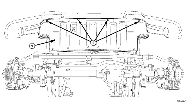 jeep patriot undercarriage diagram