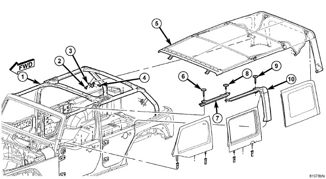 1979 jeep door latch diagram  1979  free engine image for