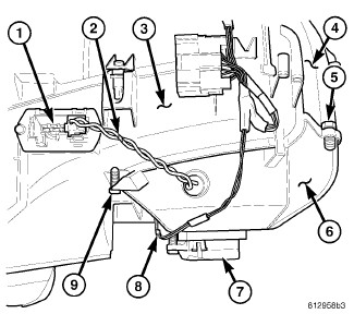 Dodge Avenger Blower Motor Resistor Location moreover 2009 Dodge Grand Caravan Cooling System Diagram as well Wiring Diagram Besides Dodge Ram 1500 Blend Door On further 2003 Chrysler Town And Country Fuse Box Diagram in addition Chrysler Town And Country 2005 Chrysler Town And Country Fan 1 Control Relay 2. on 2007 dodge caravan cooling fan wiring diagram