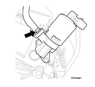 tizzy1 and others diy information page 2 dodgeforum 2007 Dodge Grand Caravan SXT fig 1 egr valve mounted