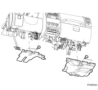 service manual  2010 dodge nitro dash removal diagram