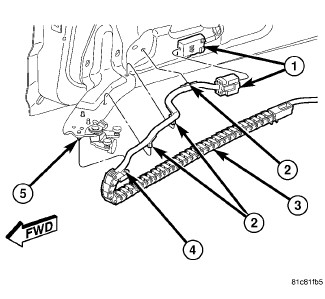 60741 broken part on slider help identify the part dodgeforum com 2007 dodge grand caravan sxt sliding door wiring harness at n-0.co