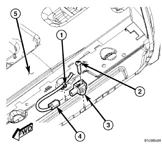 60745 broken part on slider help identify the part dodgeforum com dodge caravan sliding door wiring harness at readyjetset.co