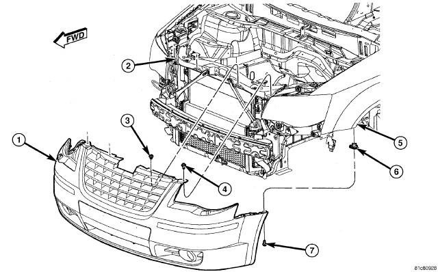 291217 2008 Dodge Grand Caravan Headlight Assembly on diagram of 2006 chrysler town and country