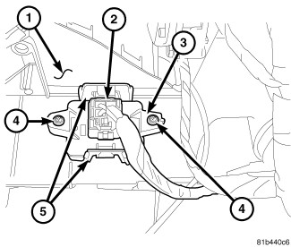 232979 2008 Caravan Blower Resistor Location