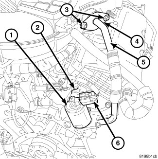 Dodge Nitro Coolant System Diagram