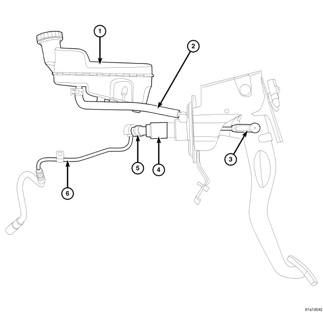 Chrysler Pt Cruiser 2005 Manual Clutch Cable