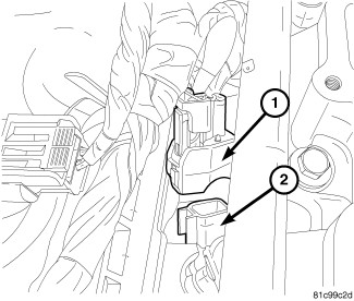 p0306 code help engine transmission dodge journey forum Import Metal Inline Fuel Filter note mark fuel injector electrical harness connectors with correct corresponding cylinder numbers 5 disconnect all fuel injector electrical connectors