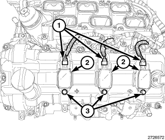 Firing Order 3 6 Chrysler Pentastar on ford ignition coil diagram