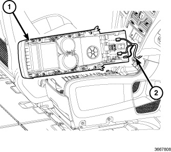 2016 Dodge Journey Fuse Box Location